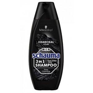 Schauma 3v1 uhlie a íl pánsky šampón na vlasy 400ml