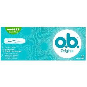 O.B. Original Super Plus tampóny 16ks