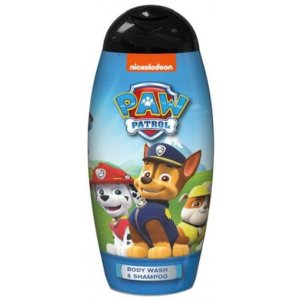 KIDS Paw Patrol sprchový gél a šampón 250ml pre chlapcov
