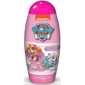 KIDS Paw Patrol Skye & Everest  sprchový gél a šampón 250ml