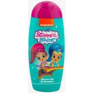 KIDS Shimmer & Shine sprchový gél a šampón 250ml