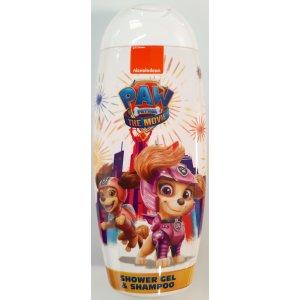 KIDS Paw Patrol Movie Girl  sprchový gél a šampón 250ml