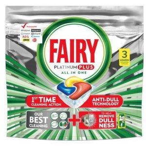 Jar kapsule (Fairy) 3ks Platinum Plus All in One Lemon