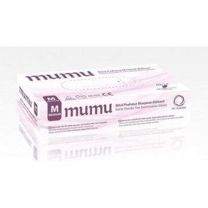 Rukavice MumuPlus nitrilové 100ks v.M