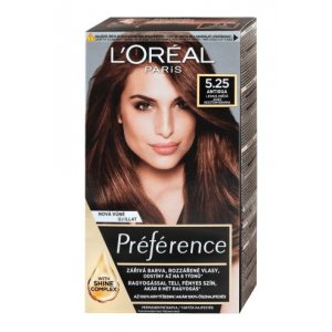Loreal Préférence farba na vlasy - 5.25/M2 (mahagónová čokoládová)