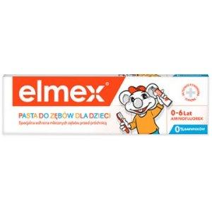 Elmex detská zubná pasta 50ml 0-6 rokov
