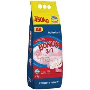 Bonux Pure Magnólia 3v1 prací prášok 7,5kg na 100 praní