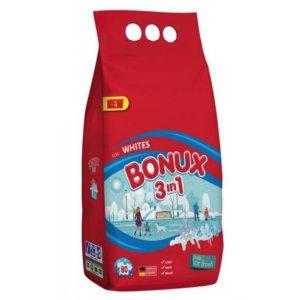 Bonux White Polar Ice Fresh 3v1 prací prášok 6kg na 80 praní