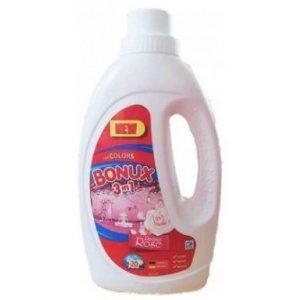 Bonux Color Rose prací gél 1,1l na 20 praní