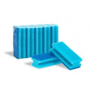 Moni gastro hubka tvarovaná modrá 5ks 15,5 x 7 cm