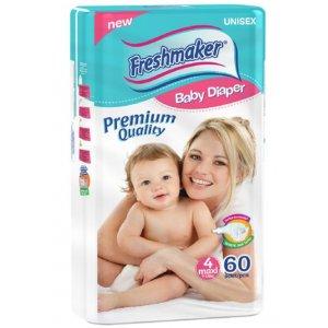Freshmaker Premium destké plienky 60ks (7-18kg) Maxi
