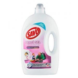Savo prací gél na farebné prádlo 2,50l na 50 praní