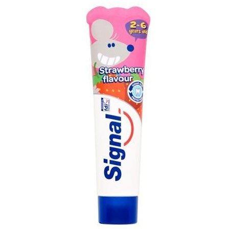 Signal detská zubná pasta Strawberry 2-6 rokov 50ml