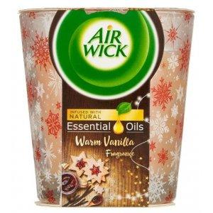 Air Wick sviečka Warm Vanilla 105g