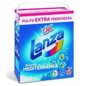 Lanza Color Brezza Mediteranea prací prášok 3,125kg BOX na 50 praní