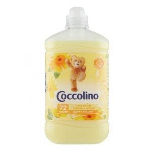 Coccolino Happy Yelow aviváž 1,8l na 72 Pracích dávok