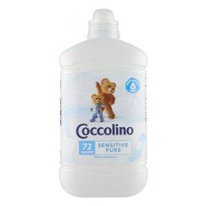 Coccolino Sensitive Pure aviváž 1,8l na 72 Pracích dávok