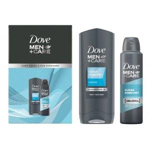 Dove Clean Comfort pánsky darčekový set 2ks